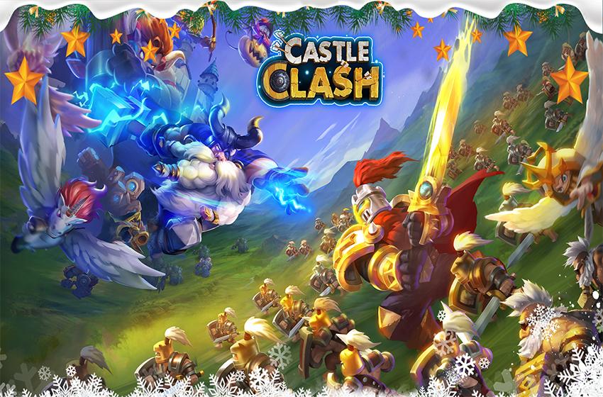 دانلود بازی Castle Clash 1.9.31