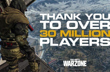 بازیکنان Warzone به بیش از 30 میلیون رسید
