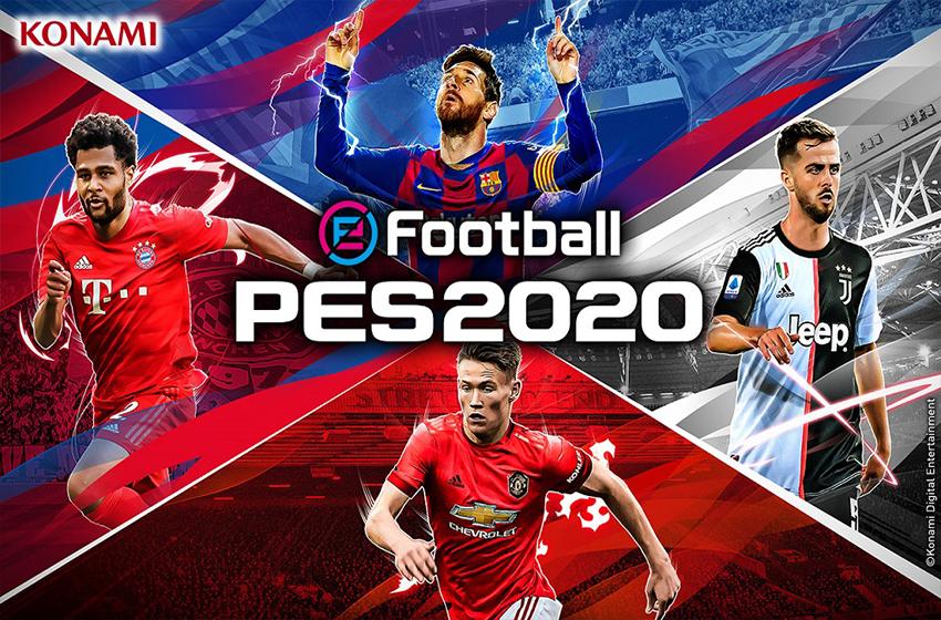 دانلود بازی eFootball PES 2020 4.6.2