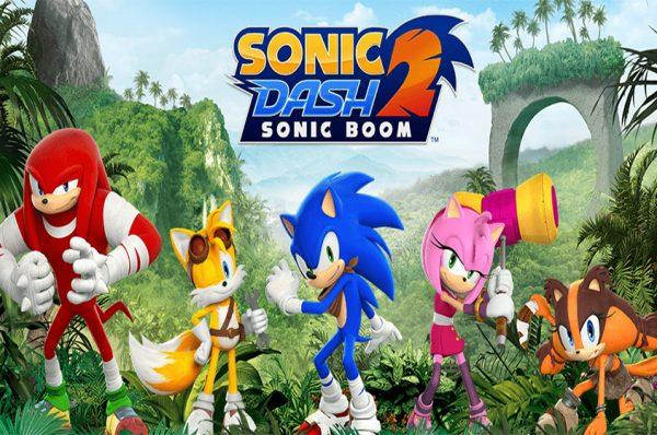 دانلود Sonic Dash 2:Sonic Boom بازی سونیک دش 2 اندروید