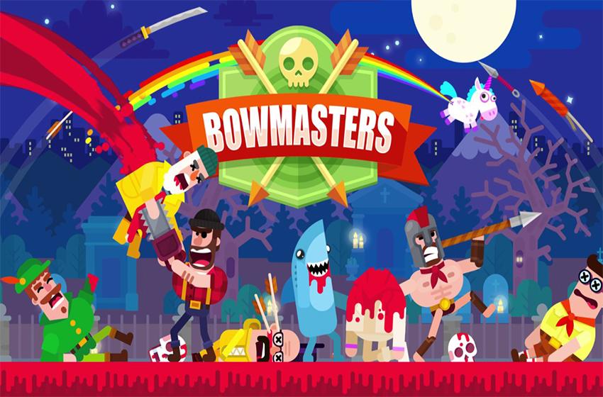 دانلود بازی Bowmasters 2.14.8