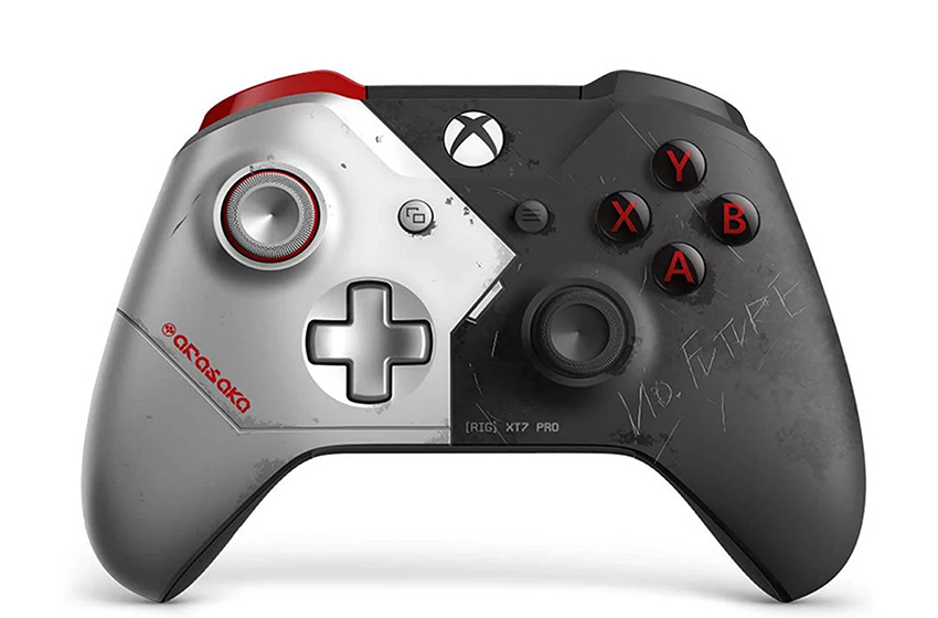 کنترلر Xbox one با مضمون Cyberpunk 2077