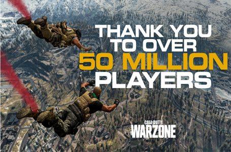 Call of Duty: Warzone از مرز 50 میلیون بازیکن هم گذشت