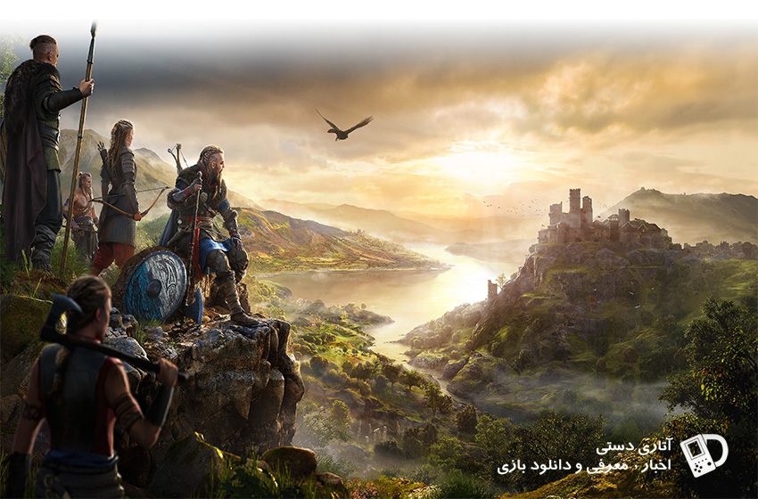 وسعت نقشه Assassin's Creed Valhalla