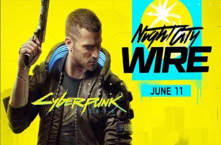 Cyberpunk 2077 میزبان رویداد خود با نام Night City Wire