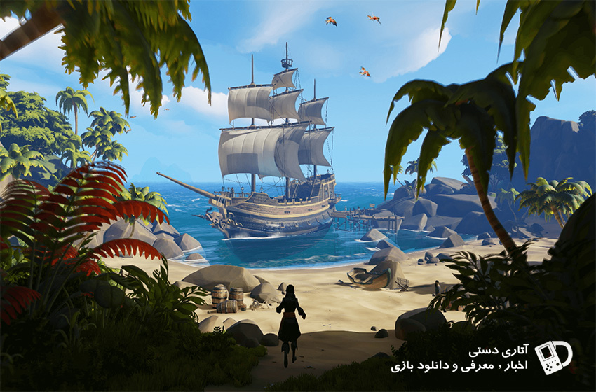 تاریخ انتشار Sea of Thieves در Steam مشخص شد