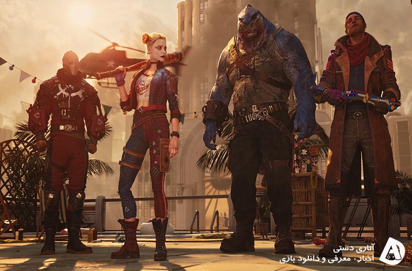 بازی Suicide Squad: Kill the Justice League معرفی شد