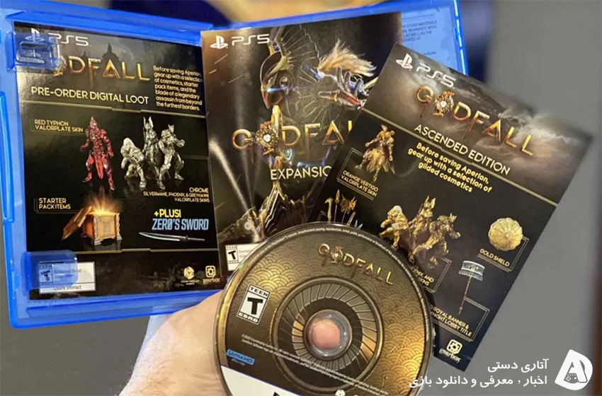 بازی Godfall اولین بازی فیزیکی Playstation 5 خواهد بود