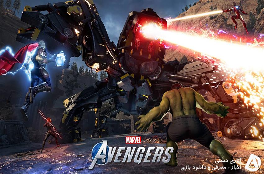 تعداد بازیکنانی که به طور همزمان در بازی Marvel's Avengers بودند به زیر 1000 نفر رسید