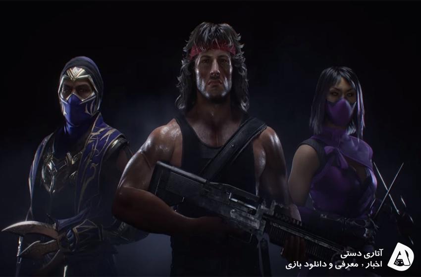 تریلر معرفی Rambo, Rain, Mileena در Mortal Kombat 11