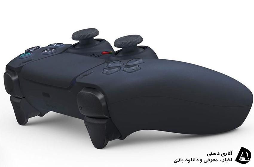 تصاویر لو رفته کنترلر PS5 DualSense با رنگ مشکی