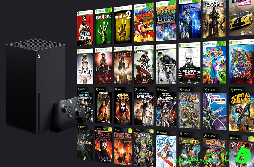 همه بازی های Xbox 360 و Xbox One در Xbox Series X/S در دسترس خواهند بود
