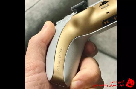 کنترلر های سفید و طلایی مخصوص کارکنان Playstation