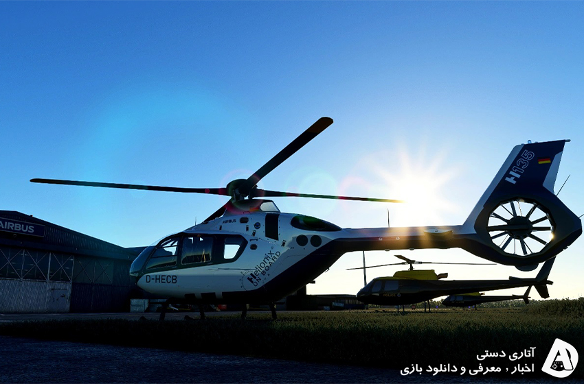 هلیکوپترها از سال آینده به Microsoft Flight Simulator می آیند