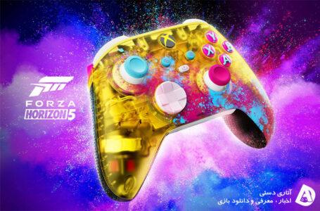 از کنترلر Forza Horizon 5 limited edition رونمایی شد