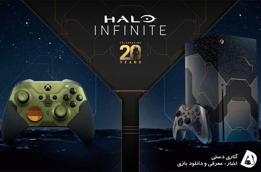 باندل Xbox Series X و کنترلر Elite 2 با طرح Halo